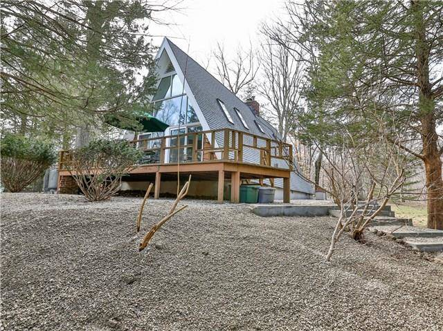Single Family Home Sold in Norwalk CT 06851. Contemporary, a-frame house near beach side waterfront with 2 car garage.