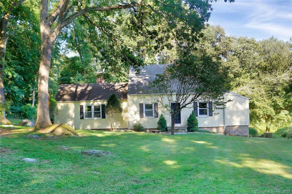 Single Family Home Sold in Stamford CT 06902.  cape cod house near beach side waterfront with 2 car garage.