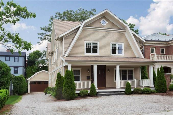 Single Family Home Rented in Greenwich CT 06830. Colonial house near waterfront with 2 car garage.
