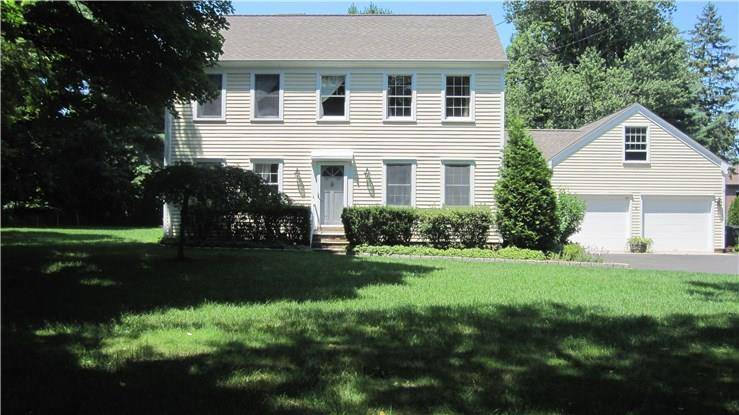 Single Family Home Rented in Westport CT 06880. Colonial house near beach side waterfront with 2 car garage.