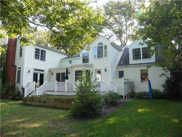 Single Family Home Sold in Fairfield CT 06824. Colonial cape cod house near beach side waterfront with 2 car garage.