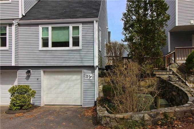 Condo Home Sold in Wilton CT 06897.  townhouse near waterfront with swimming pool and 1 car garage.