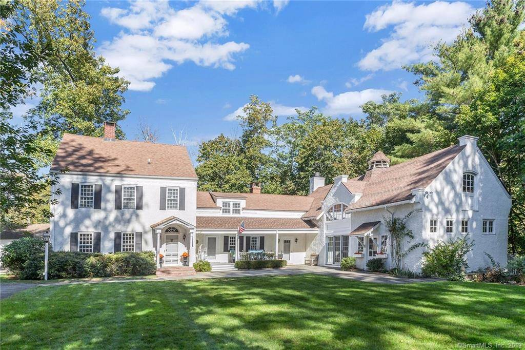 Single Family Home Sold in Stamford CT 06905. Old colonial, antique house near waterfront with swimming pool and 2 car garage.