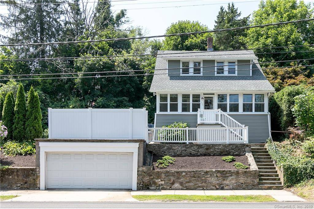 Single Family Home Sold in Shelton CT 06484. Old colonial bungalow house near waterfront with 2 car garage.