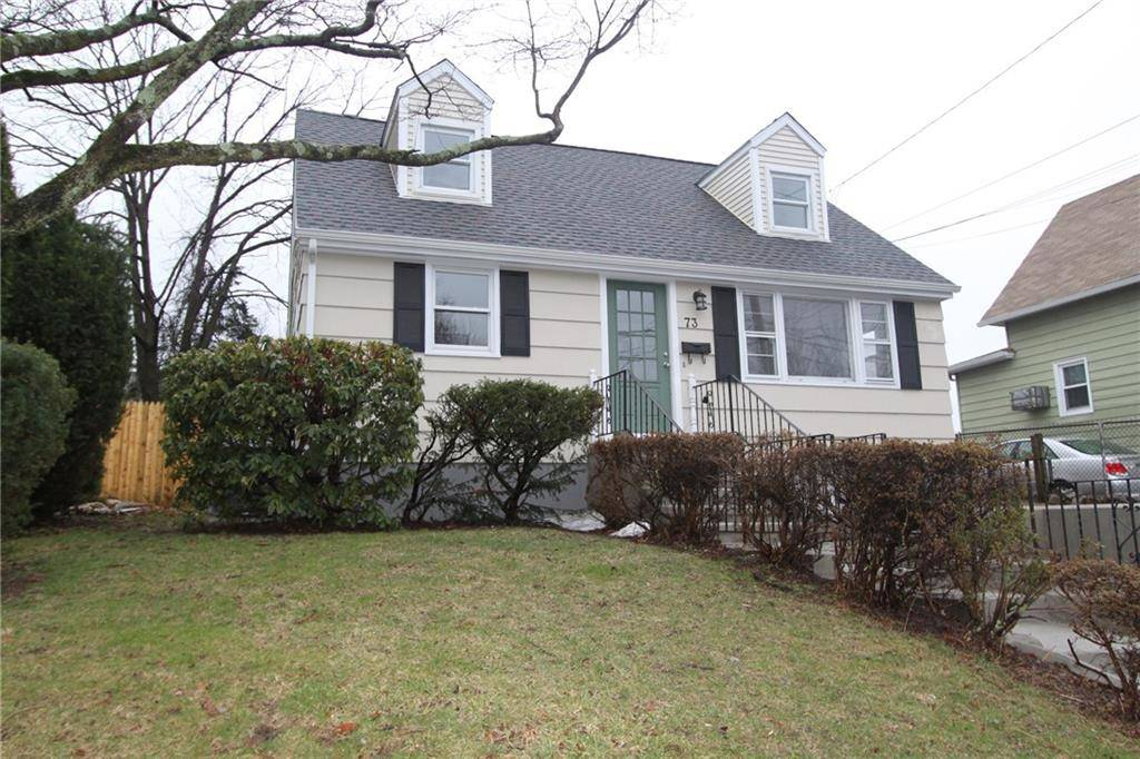 Single Family Home Sold in Fairfield CT 06824.  cape cod house near waterfront with 1 car garage.