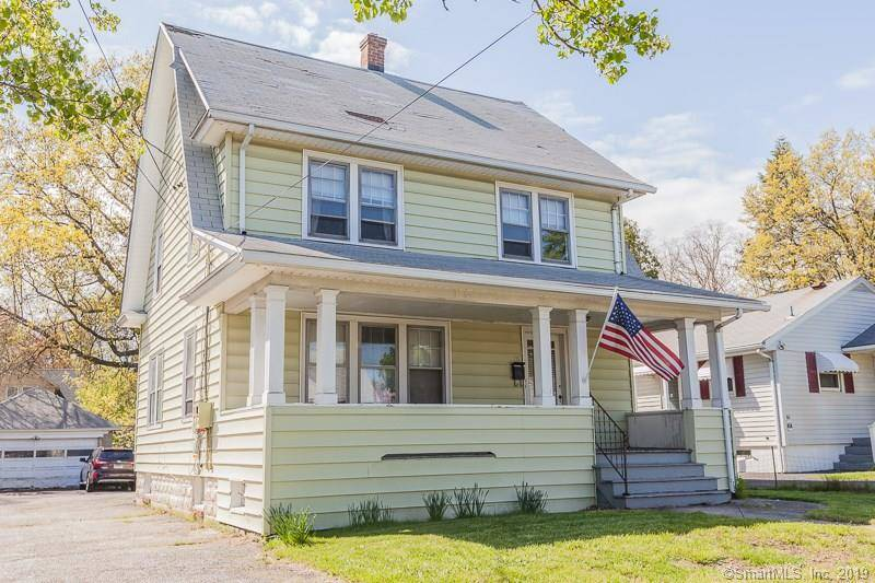 Multi Family Home Sold in Stratford CT 06615. Old  house near waterfront with 2 car garage.