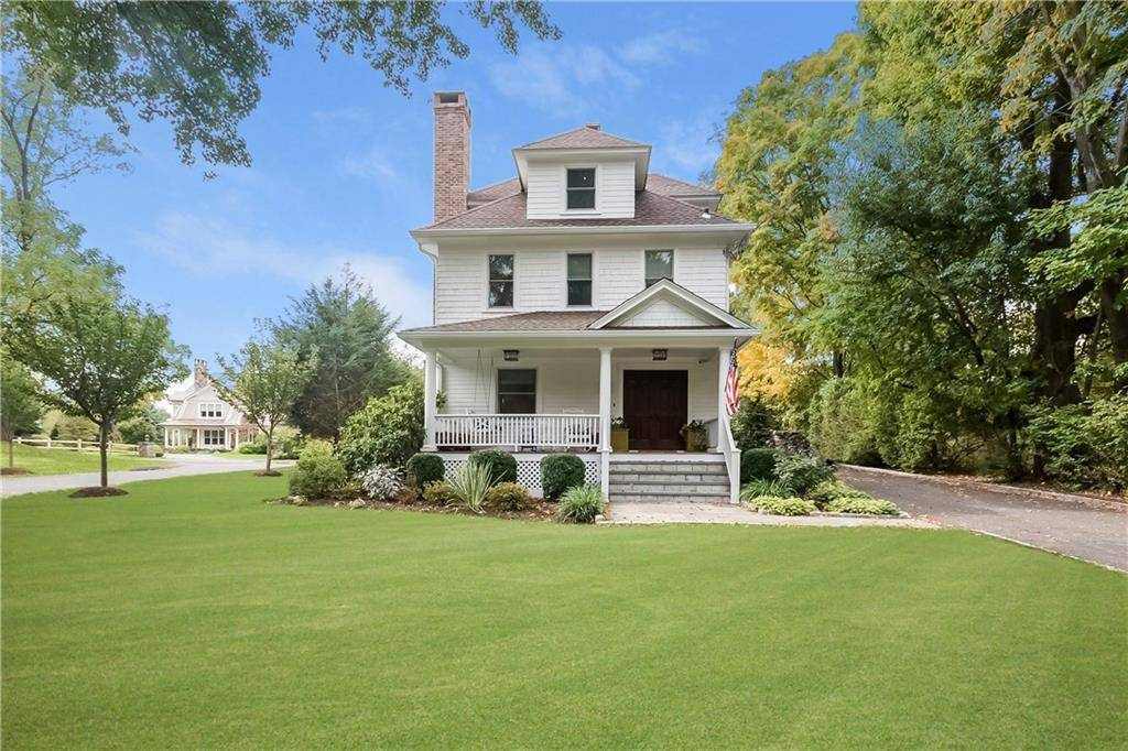 Single Family Home Sold in Westport CT 06880. Old colonial farm house near waterfront with swimming pool and 2 car garage.