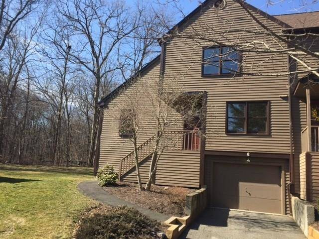 Condo Home Sold in Monroe CT 06468.  townhouse near waterfront with swimming pool and 1 car garage.