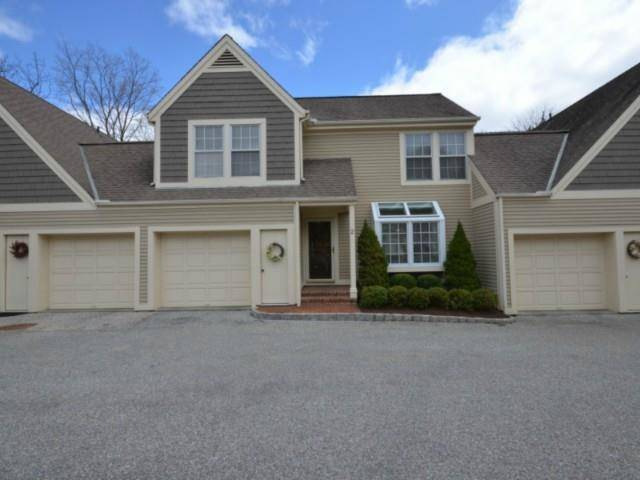 Condo Home Sold in Darien CT 06820.  townhouse near waterfront with swimming pool and 1 car garage.