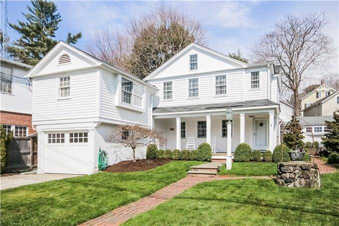 Single Family Home Sold in Fairfield CT 06890. Old antique house near waterfront with 1 car garage.