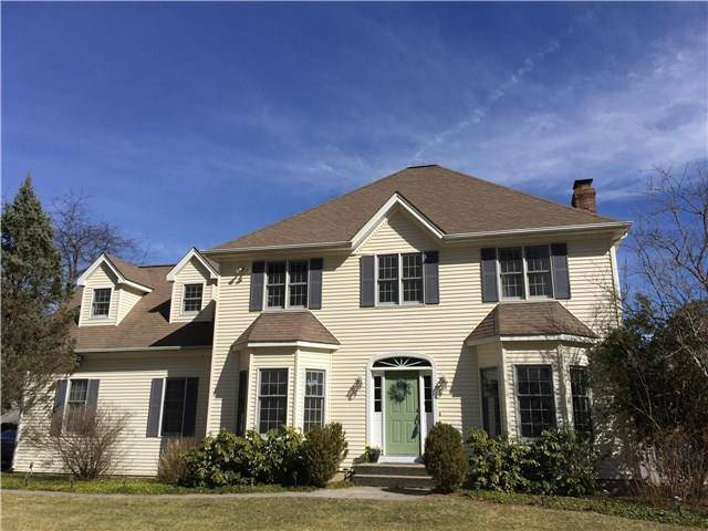 Single Family Home Sold in New Fairfield CT 06812. Colonial house near lake side waterfront with 2 car garage.